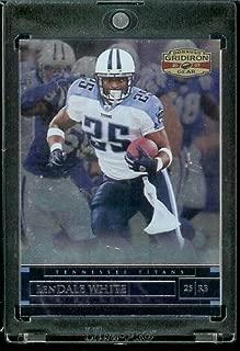 2007 Donruss Gridiron Gear #87 LenDale White - Tennessee Titans - NFL Trading Football Card