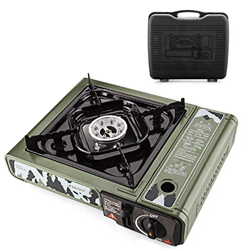 CARTEY CassetteFurnace Premium Butane Stove with Convenient Carrying Case, For All Cooking Application Supplies Powerful Heat Output Stove