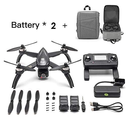 [Verbessert] 2019 Neueste MJX Bugs 5W RC Drohne 8G 4K mit 2160P Wifi FPV HD Kamera-Follow Me, MT2204 2300KV BÜRSTENLOSER MOTOR, MJX RC Quadcopter