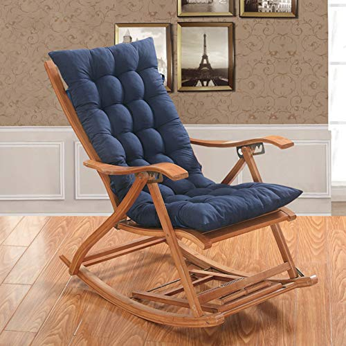 OR&DK Cojín Plegable sin Silla, Cojín de Espesor Mecedora Cojín sillón con Correa Almohadilla Antideslizante Tatami-D 48x150cm(19x59inch)