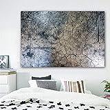 JNZART Skandinavische Landschaft Poster und Drucke Abstrakte Blume Baum Leinwand Malerei Wandbilder für Wohnzimmer Gemälde Home Decor D 40x60cm