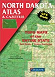 North Dakota Atlas and Gazetteer (Delorme Atlas and Gazetteer Series)