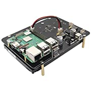 "Raspberry Pi 3 B+/3B 3.5 inch SATA HDD Storage Expansion Board, X830 3.5"" Mobile Hard Disk Drive Extension Module for Raspberry Pi 3 Model B+ (B Plus)/3 Model B/2B/B+"