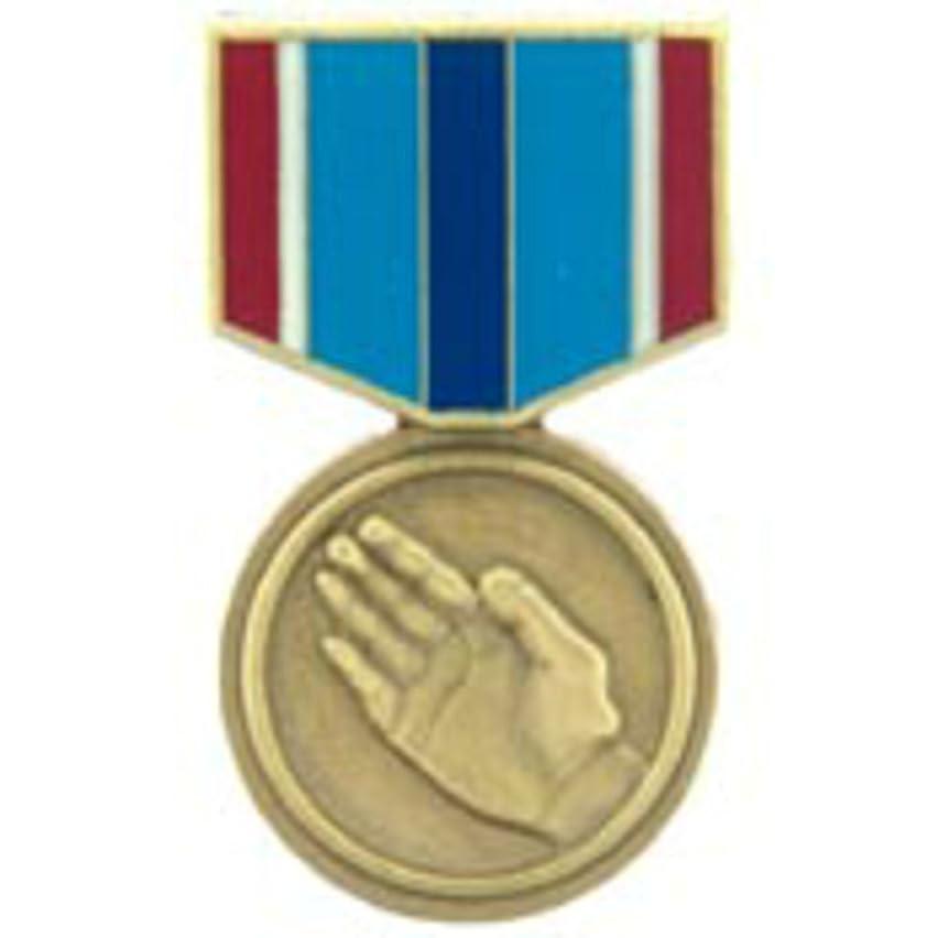 EagleEmblems P15838 Pin-Medal,Humanitarian SV (1-3/16'')