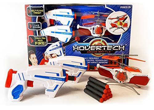 Top Secret Toys HoverTech Battle Drone with Foam Dart Blasters