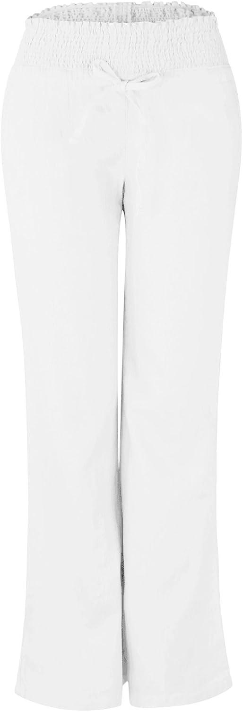 Makeitmint Women's Comfy Solid Pocket Linen Lounge Flared Pant [9 colors]