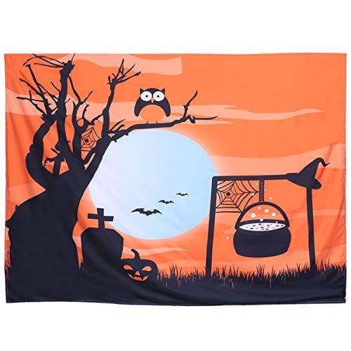 Amosfun - Adornos de Halloween, para colgar fotos, decoración romántica, hecha a mano, para colgar en el dormitorio o el salón