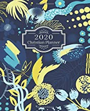 2020 Christian Planner Weekly & Monthly: Flower Cover Bible Reading Log Plan   Goal Productivity   Track Your Progress for Encouragement   At a Glance ... and Daily Organizer Schedule   Prayer list