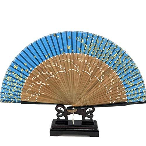 1pcs Silk Sakura Schilderen Folding Ventilator met de Zak van de Gift Tassel Giften van het Huwelijk, DM0010 LOLDF1 (Color : Dm0013)