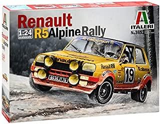 Italeri Renault R5 Rally 510003652 a Escala 1:24