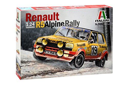 Italeri Renault R5Rally 510003652a Escala 1:24