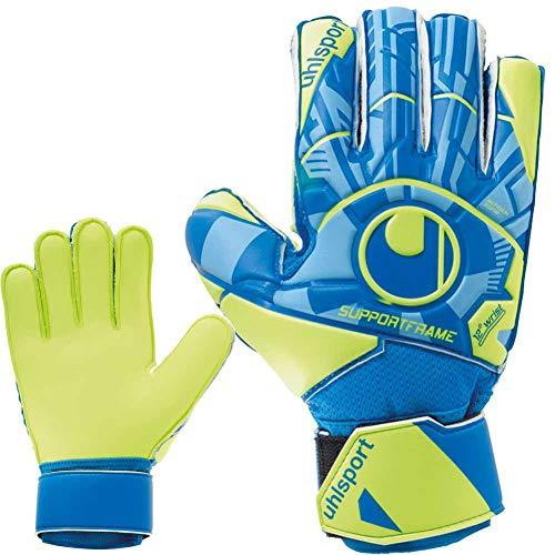uhlsport Torwarthandschuhe Fingerschutz Fingersave + Handschuhreiniger (7)