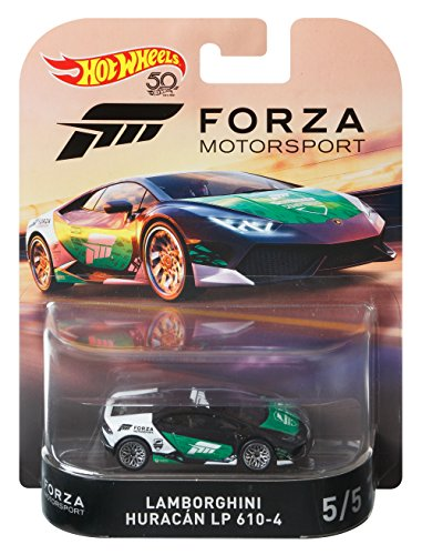 Hot Wheels Lamborghini Huracan LP 610-4 - Forza Motorsport 2018 Retro RR 1:64