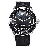 Corgeut Men Watch, Automatic Mechanical Stainless Steel Wrist Watch, Super Luminous