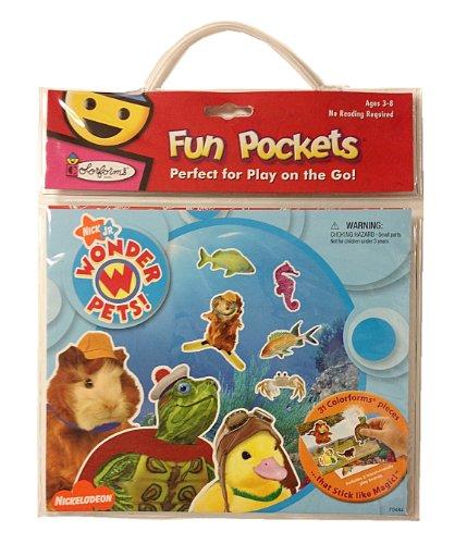 University Games Wonder Pets Colorforms Fun Pocket