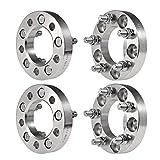 Ai CAR FUN Wheel Spacers 4 PCS 5x4.5 (82.5 mm) 1 Inch Thick 1/2' Studs 5 Lug...