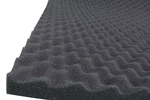 Pannelli Fonoassorbenti Bugnato Correzione Acustica 100x100x3 D25