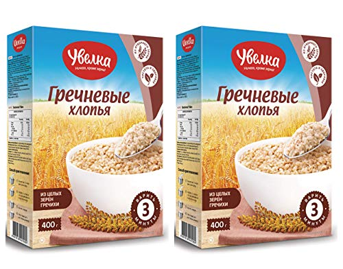 Uvelka Buckwheat Flakes Pure Grain 400g