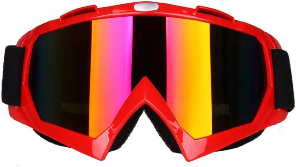 SlimpleStudio Gafas a Prueba de Viento para Deportes de Invierno,Gafas Deportivas de montañismo Anti-Ultravioleta Gafas de esquí Gafas a Prueba de Polvo