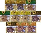 10x Paleo Kekse (10 x 50g) 5 verschiedene Sorten glutenfreie Kekse laktosefrei getreidefrei Kohlenhydratreduziert Kennenlernpaket