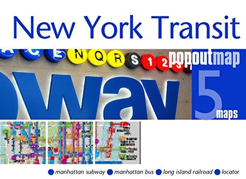 MAP-NEW YORK TRANSIT POPOUT MA (Popout Maps)