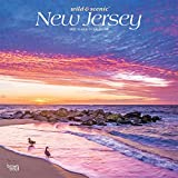New Jersey Wild & Scenic 2021 12 x 12 Inch Monthly Square Wall Calendar, USA United States of America Northeast State Nature