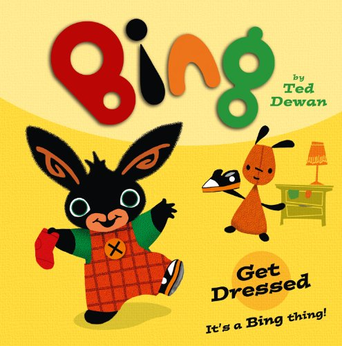 Bing: Get Dressed (English Edition)