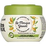 Garnier - Le Masque Yaourt Lait D'Amande Bio & Sève D'Agave Bio - 300Ml - Lot De 3 -...