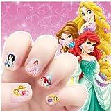 Disney Princess Makeup Toys Nagel AufkleberKinder Ohrring Aufkleber Mädchen Dekor Maniküre5 STK