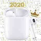 Écouteurs sans Fil Bluetooth 5.0 avec réduction de Bruit, écouteurs Sportifs avec IPX7 Écouteurs stéréo étanches dans l'oreille Intégré HD Mic Casques pour iPhone/Android/Airpods Samsung