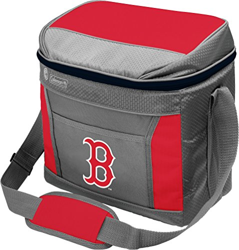 Coleman MLB Soft-Sided Insulated Cooler Bag, 16-Can Capacity, Boston Red Sox