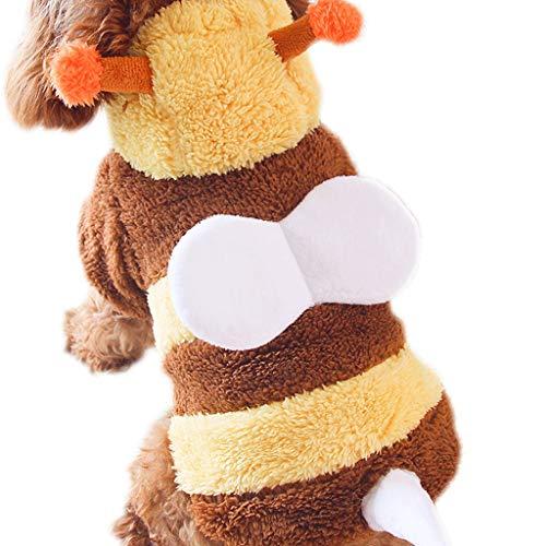 Vestiti per Cani Pet Vestiti XS/S/M/L/XL Piccoli Cuccioli più Velluto Autunno e Inverno Vestiti del Cane Cappotto per Cani (Size : XL)