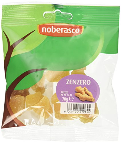 Zenzero Noberasco 0,99 - cartoncino da 12 pacchetti da 70g