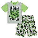 Minecraft Mojang Boys Pajamas Set - Short Sleeve Pajamas Set Creeper Pajamas