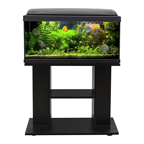 Acquario MILO 80 LED LINE NERO Con Mobile Di Supporto - Accessoriato