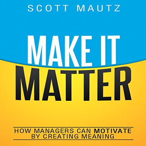 Make It Matter audiobook cover art