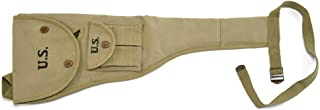 World War Supply M1 Carbine Canvas Paratrooper Jump Case with Magazine Pouch Marked JT&L 1943