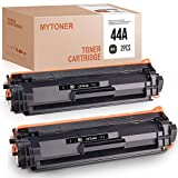 MYTONER 2 cartuchos de tóner compatibles HP 44A CF244A para impresoras HP Laserjet Pro M15a MFP M28a M28w M29 M30w M30a color negro