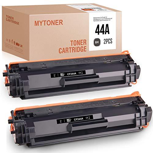 MYTONER Compatibile HP 44A CF244A Toner per HP Laserjet Pro MFP M28w M28a M15w M15a M16 M17a M17w (Nero, 2 Pack)