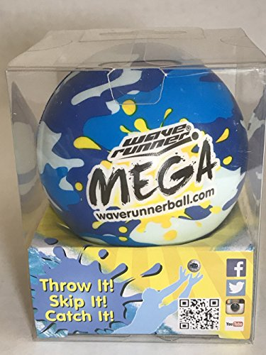 Product Image of the Wave Runner Mega Ball - Yellow Camouflage