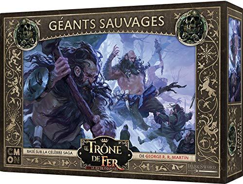 CMON Le Trono de Hierro – El juego de figuras – 46 gigantes salvajes