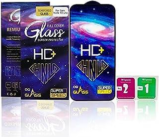 سامسونج نوت 10 لايت (Samsung Note 10 Lite) شاشة زجاجية للحماية من بينجو اتش دى بلس - اسود