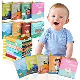 Lictin Libros Blandos para Bebé-Libros de Tela para Bebé Impermeable Sobre Aprendizaje y Educativo para Bebé con Certificación CE