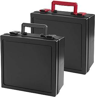 TCG カード専用ケース トレカ プロテクト スリーブ カードケース (レッド&ブラック(Red & Black))