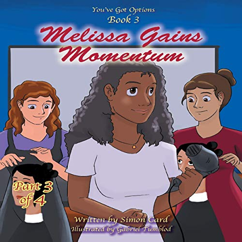 Melissa Gains Momentum audiobook cover art