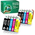 10-Pack GREENSKY Compatible Ink Cartridge Replacement