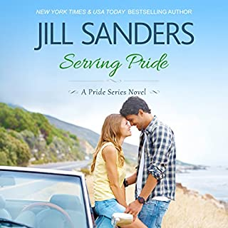 Serving Pride     Pride Series, Book 5              By:                                                                                                                                 Jill Sanders                               Narrated by:                                                                                                                                 Tanya Eby                      Length: 1 hr and 38 mins     56 ratings     Overall 4.2