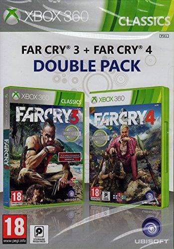 Nordic Import Xbox 360 Far Cry 3 & 4 Doppelpack auf Deutsch spielbar