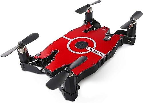 WQGNMJZ Drohne, T49, Ferndrohne, Quadcopter, Fernbedienungsflugzeug, ultradünne Faltwagen-WiFi-Luftfahrzeug