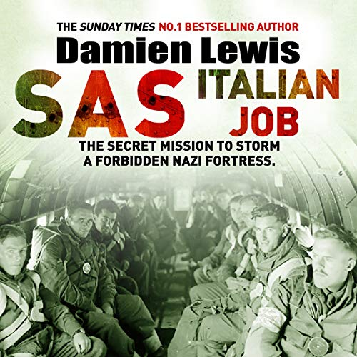 SAS Italian Job audiobook cover art